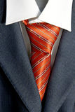 Tie in suit Royalty Free Stock Image