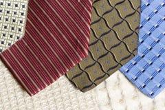 Tie textures Stock Image
