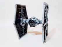 TIE van de Legosterrenoorlog vechter royalty-vrije stock afbeeldingen