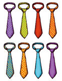 Tie. Vector drawing Royalty Free Stock Image