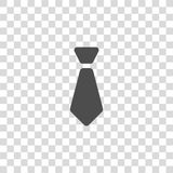 Tie vector icon Stock Images