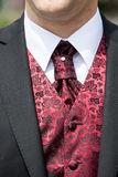 Tie for a wedding Royalty Free Stock Photography