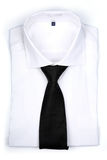 Tie on white background - close-up Royalty Free Stock Image