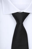 Tie on white background - close-up Stock Photo
