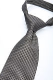 Tie on white background - close-up Stock Photography