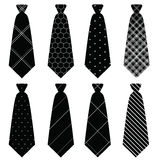 Tie in  on white background set 2 Royalty Free Stock Photography