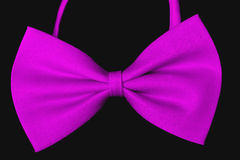 Tiebow  on black background Royalty Free Stock Photography