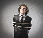 Tied Businessman Royalty Free Stock Image
