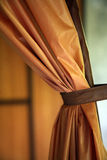 Tied curtain Royalty Free Stock Photography