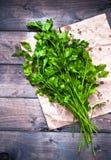 Tied fresh parsley Royalty Free Stock Photos