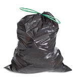 Tied garbage bag Royalty Free Stock Image