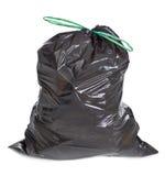 Tied garbage bag royalty free stock image