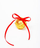 Tied knot chocolate Stock Photo