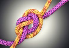 Tied Knot Royalty Free Stock Photo