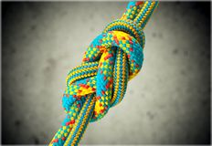 Tied Knot Stock Images