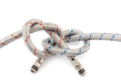 Tied rope Stock Images