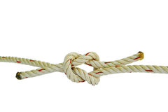 Tied rope together Stock Images