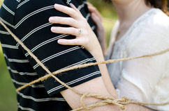 Tied Together Royalty Free Stock Images
