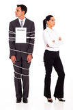 Tied unwanted marriage Stock Image