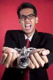 Tied up businessman Royalty Free Stock Images