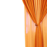 Tied up curtains Royalty Free Stock Image