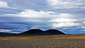 Tief in das Herz von Island Stockfotografie