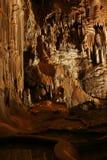 Tief in der Höhle Stockbild