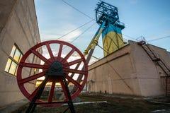 Tiefbaugruben Ukraine, Donetsk Lizenzfreies Stockbild