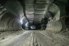 Tiefbaugruben Ukraine, Donetsk Stockbilder