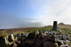 Tiefe Wolken über dem Ireby und dem Uldale Lizenzfreies Stockfoto