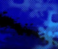 Tiefer blauer Hintergrund Stockfotos