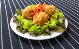 Tiefer Fried Shrimp Balls Lizenzfreies Stockfoto