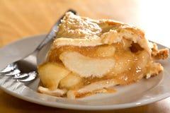 Tiefer Teller-Apfelkuchen Lizenzfreie Stockfotos