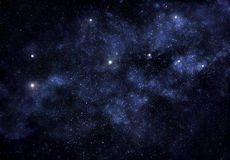 Tiefer Weltraum vektor abbildung