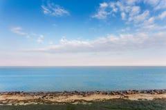 Tiefes blaues Asow-Meer Lizenzfreie Stockbilder