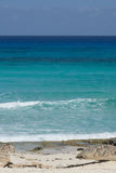Tiefes blaues Wasser von Mexiko Stockfoto