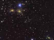Tiefes Feld IC3949 von Galaxien Stockfoto