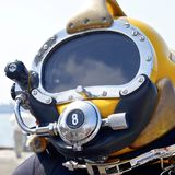 Tiefes Seetauchens-Sturzhelm Stockbild