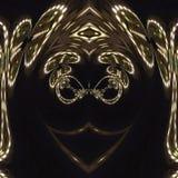 Tiefrote Rotation Digital-Art lizenzfreie abbildung