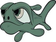 Tiefwasserfische. Karikatur Lizenzfreie Stockfotografie