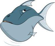 Tiefwasserfische. Karikatur Lizenzfreies Stockfoto