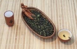 Tieguanyin chinois de thé vert Images libres de droits