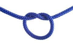 Tieing de knoop Stock Foto's