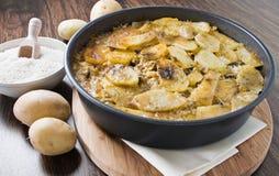 tiella риса картошек мидий Стоковые Изображения RF