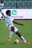 Tiemoko Konate - voetbal Stock Fotografie