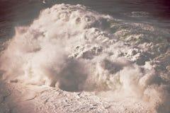 Tiempo áspero en la playa de Bondi Imagenes de archivo