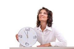 Tiempo/él está 5 antes de 12 Foto de archivo