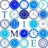 Tiempo stock de ilustración