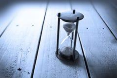 Tiempo Bakground del reloj de arena Imagen de archivo