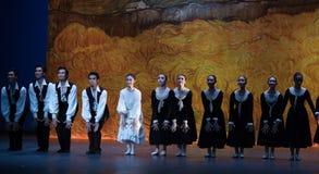 Tiempo-ballet de la escuela la muchacha de Arles Fotos de archivo libres de regalías